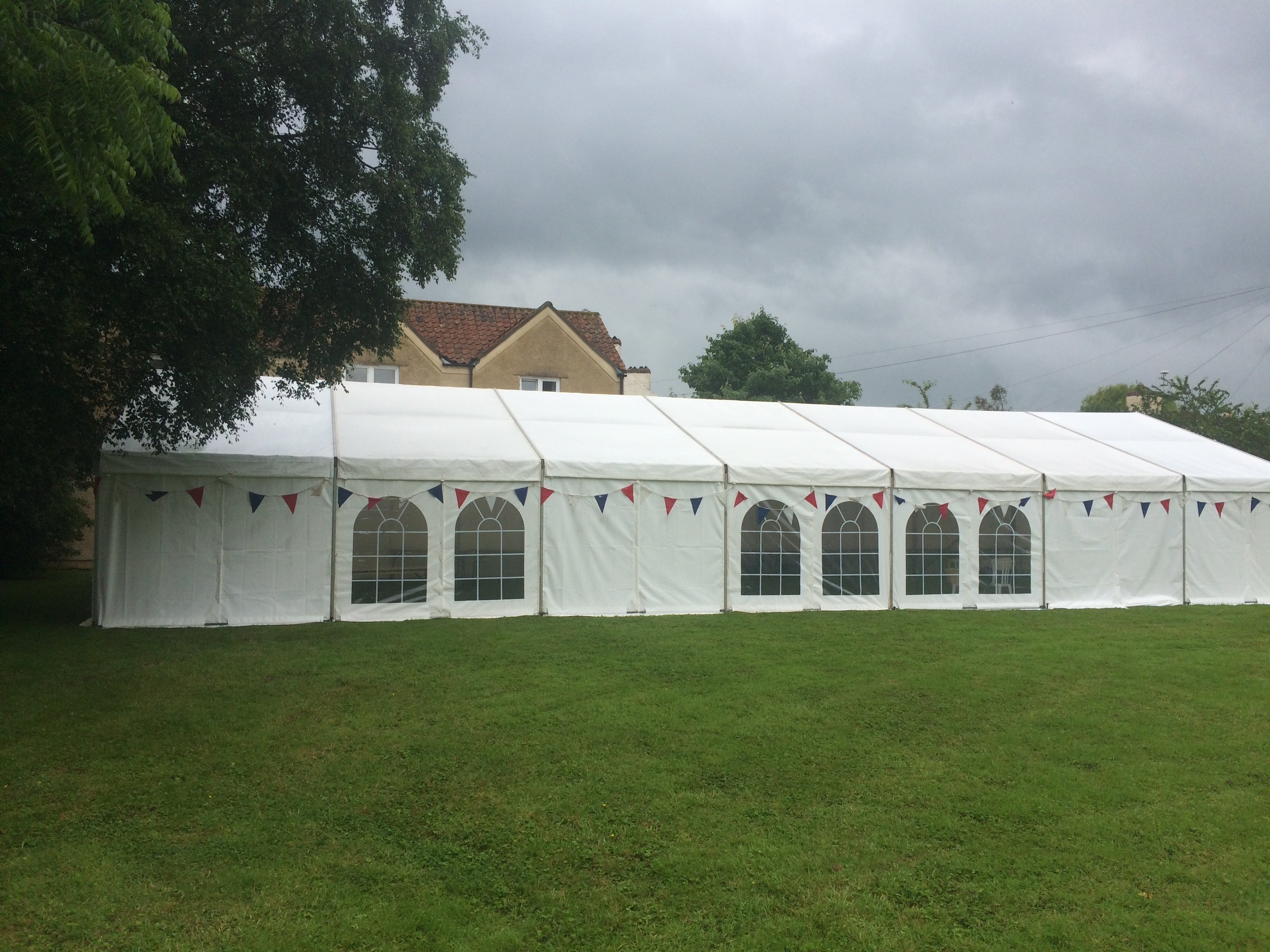 Marquee 9m x 21m For Fete