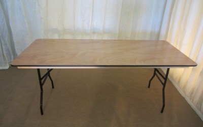 6ft Long Trestle Table