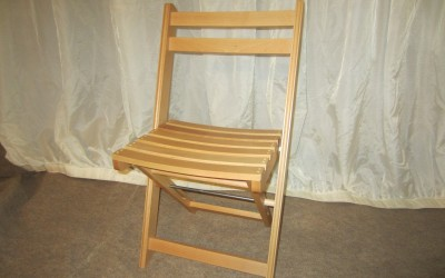 Wooden Folding Chair 002